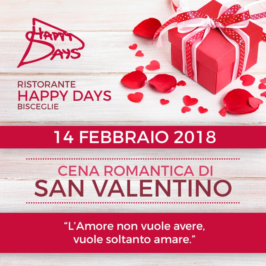 Cena di S. Valentino · 14 Febbraio 2018