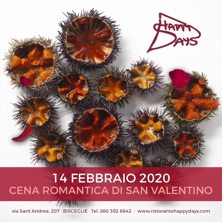 Cena di S. Valentino · 14 Febbraio 2020